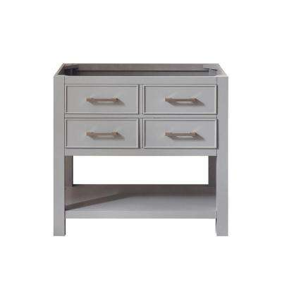 Brooks 36 in. W x 21.5 in. D x 34 in. H Vanity Cabinet in Chilled Gray
