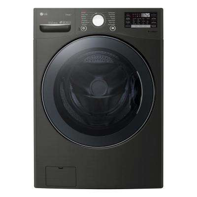 4.5 cu. ft. Black Steel Ultra Capacity Front Load Washing Machine with TurboWash360, Steam and Wi-Fi Connectivity