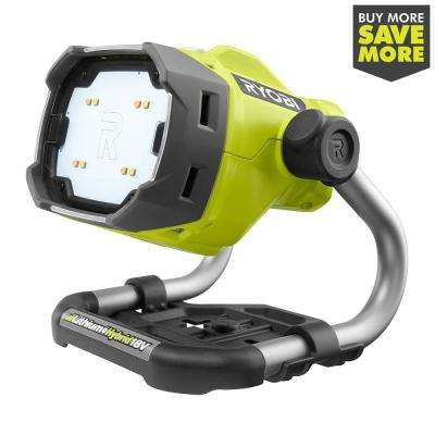 18-Volt ONE+ Hybrid LED Color Range Work Light (Tool Only)