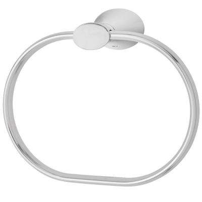 Caspian Towel Ring in Polished Chrome