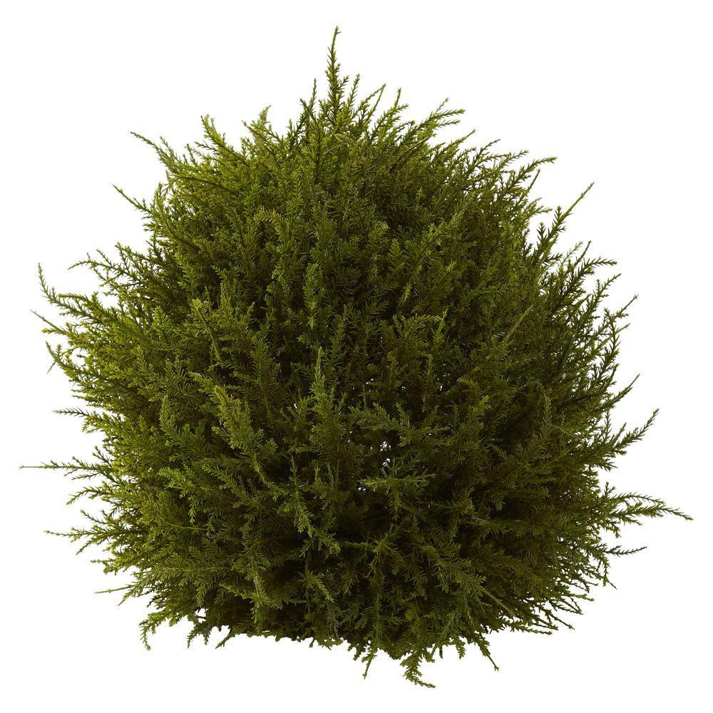 14 in. Cedar Decorative Sphere