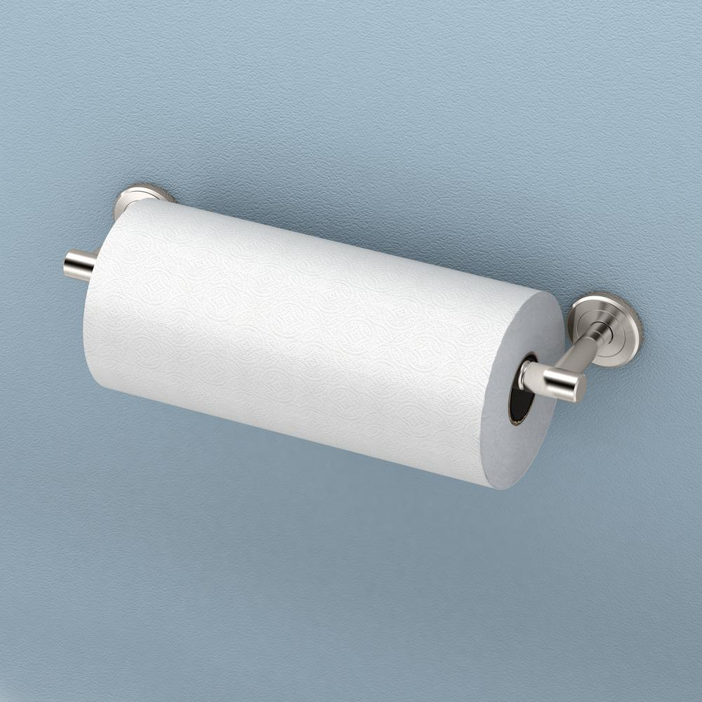 Latitude II Paper Towel Holder in Satin Nickel