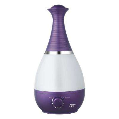 Ultrasonic Humidifier with Fragrance Diffuser - Violet