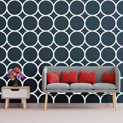 3/8 in. x 15-3/4 in. x 15-3/4 in. Medium Beacon White Architectural Grade PVC Decorative Wall Panels