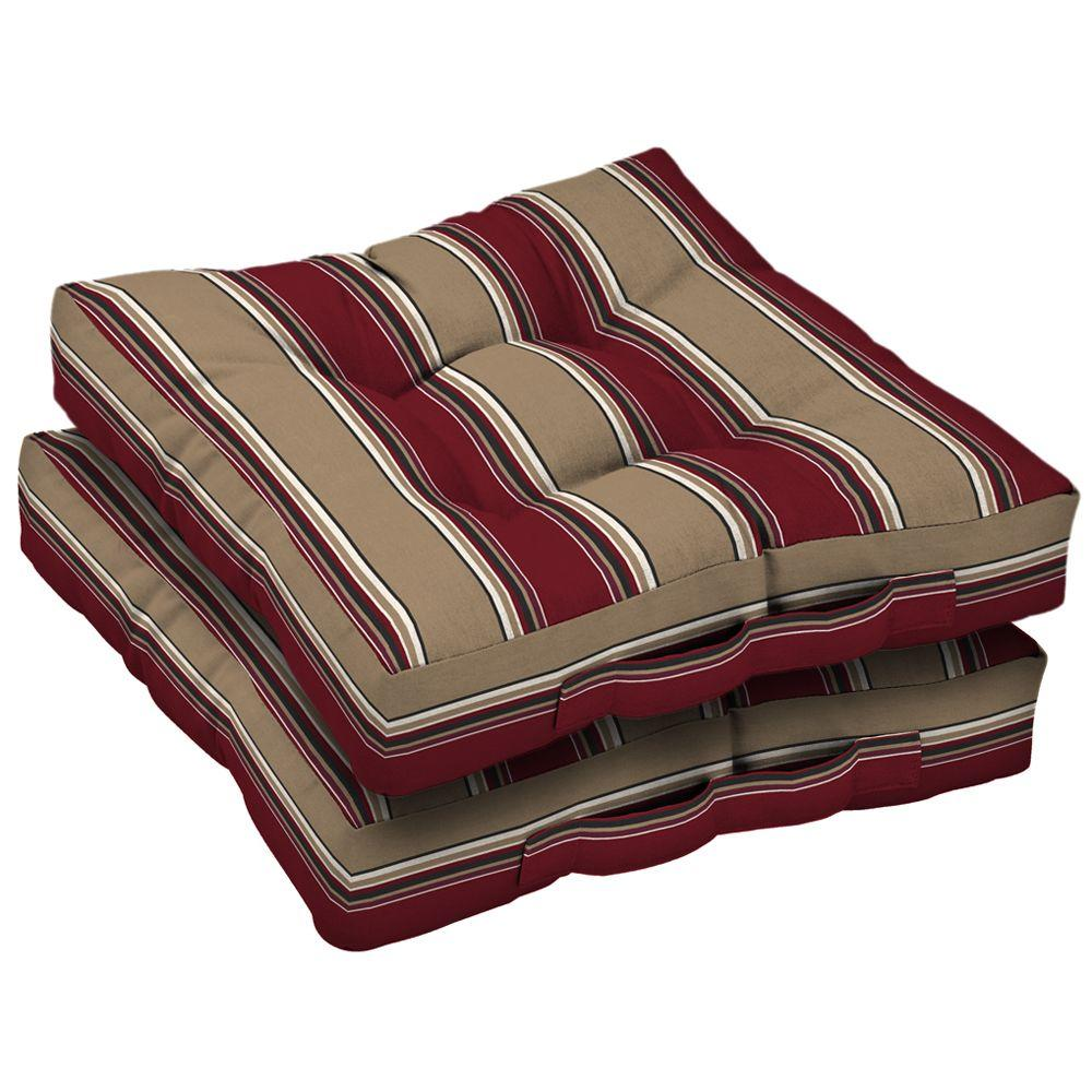 Arden Hancock Chili 2 Deck Cushion (Pack Of 2)-DISCONTINUED