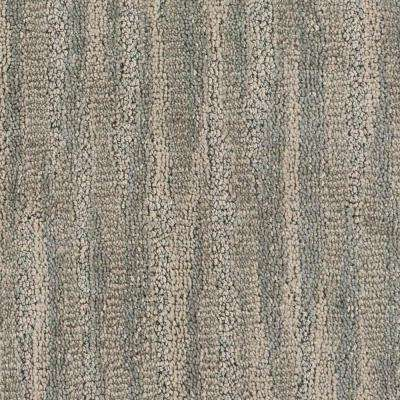 Carpet Sample - Inner Peace - Color Sand Dunes Pattern 8 in. x 8 in.