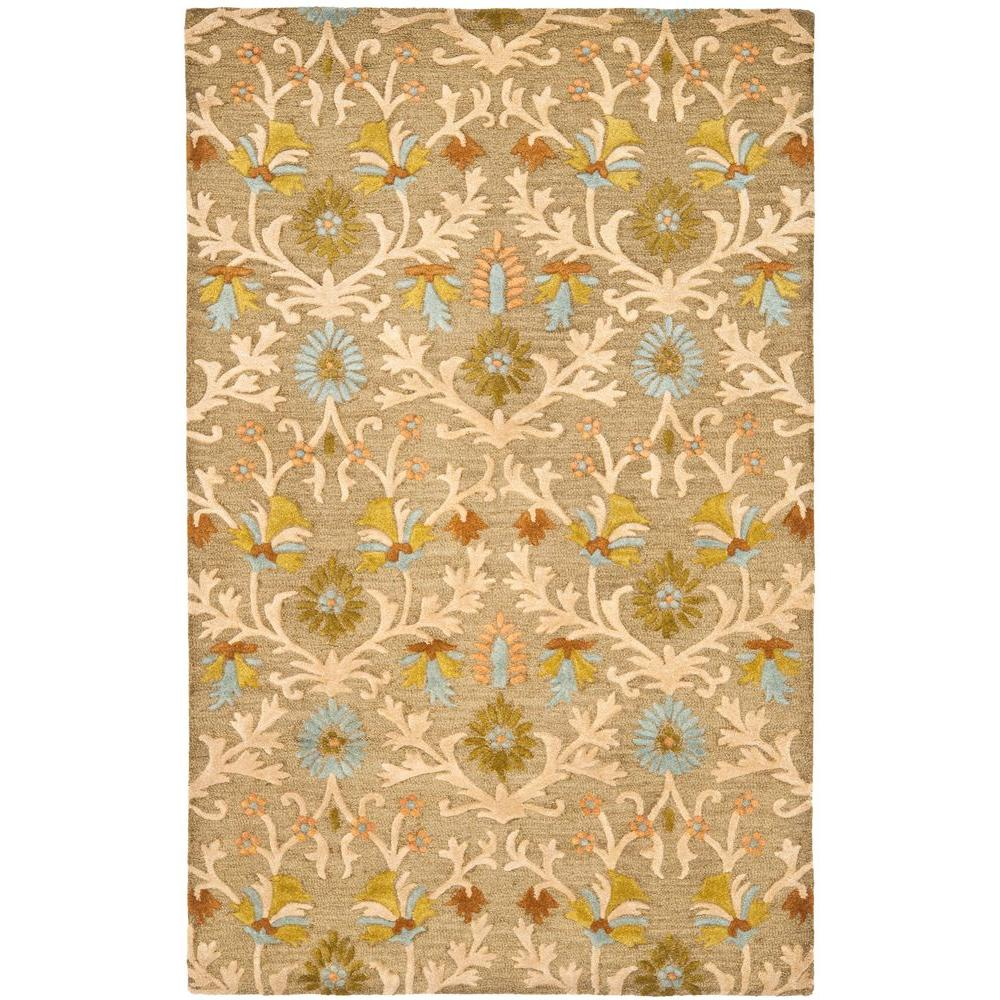 Safavieh Cambridge Moss Multi 6 Ft X 9 Area Rug