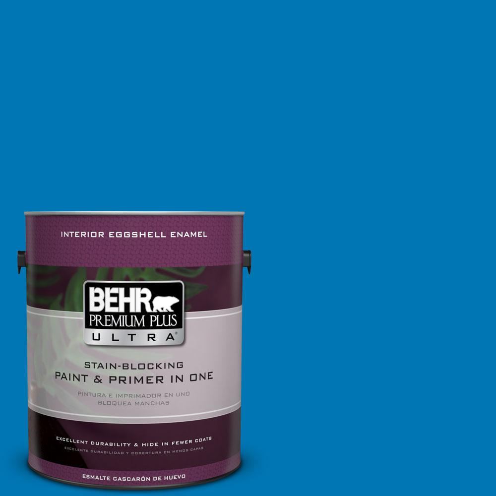 BEHR Premium Plus Ultra 1-gal. #S-G-540 Song Bird Eggshell Enamel Interior Paint
