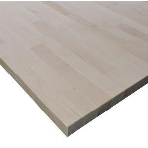 1 in. x 12 in. x 29 in. Allwood Birch Project Panel, Chopping Block, Cutting Board