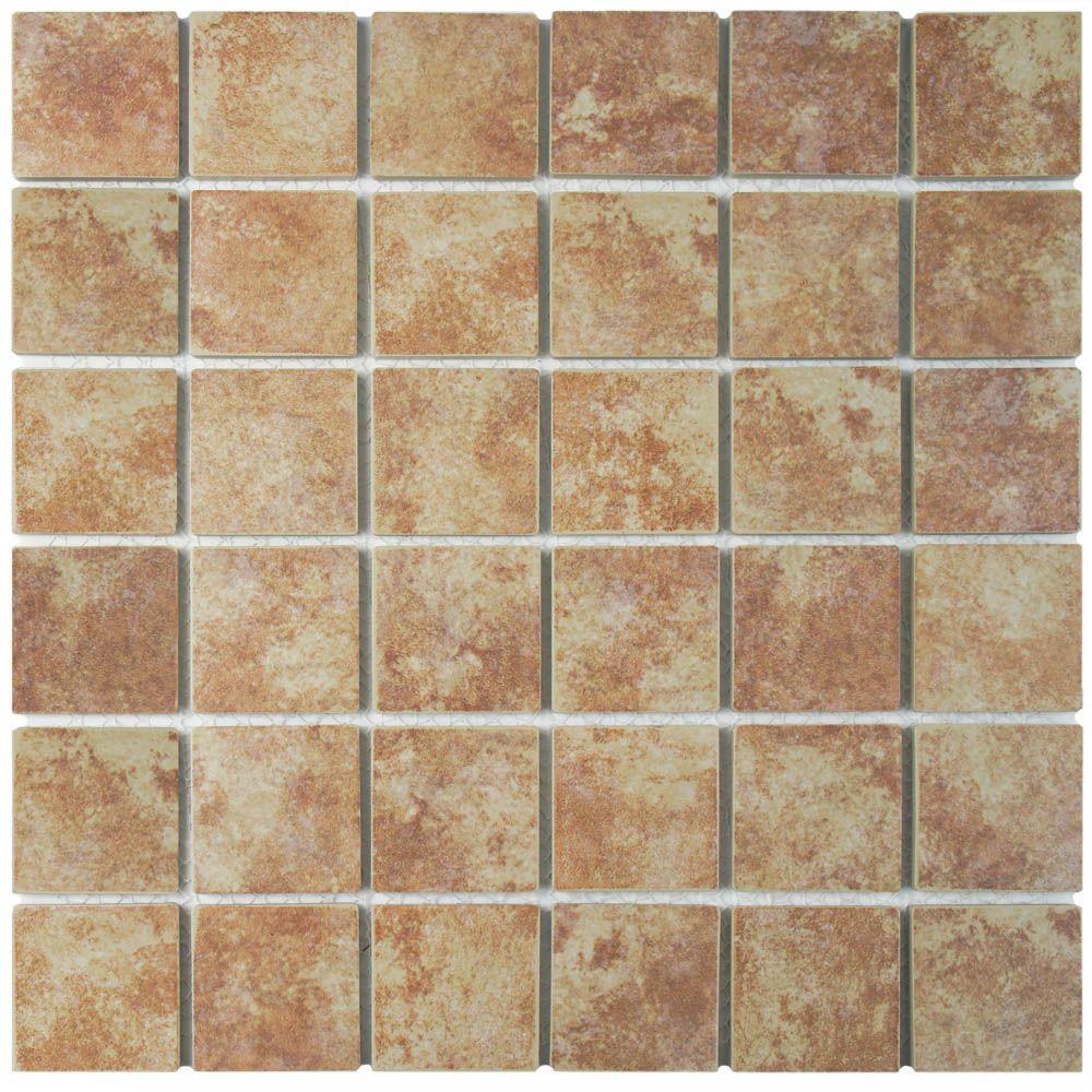 Merola Tile Colorado Quad Mesa 12 12 In X 12 12 In X 5 Mm