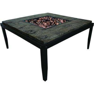 18 in. Tall Tiburon Stainless Steel Table Fire Pit