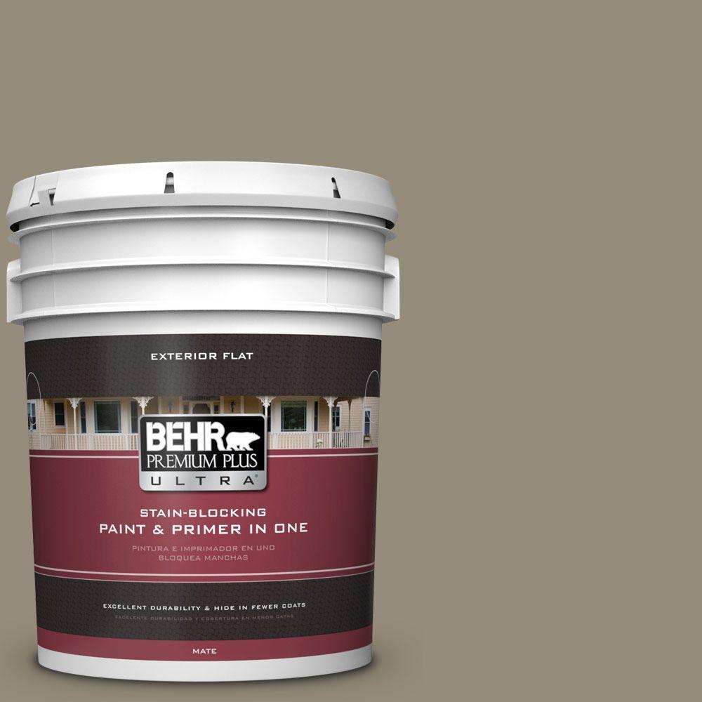 BEHR Premium Plus Ultra 5-gal. #770D-5 Carriage Door Flat Exterior Paint