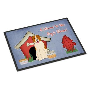 Carolines Treasures St Louis Cathedrial Across the Square Indoor or Outdoor Mat 18x27 MW1217MAT 18 x 27 Multicolor