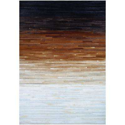 Couristan Chalet Homestead Multi Dawn 8 Ft X 11 Ft Area Rug 96940901080110t The Home Depot