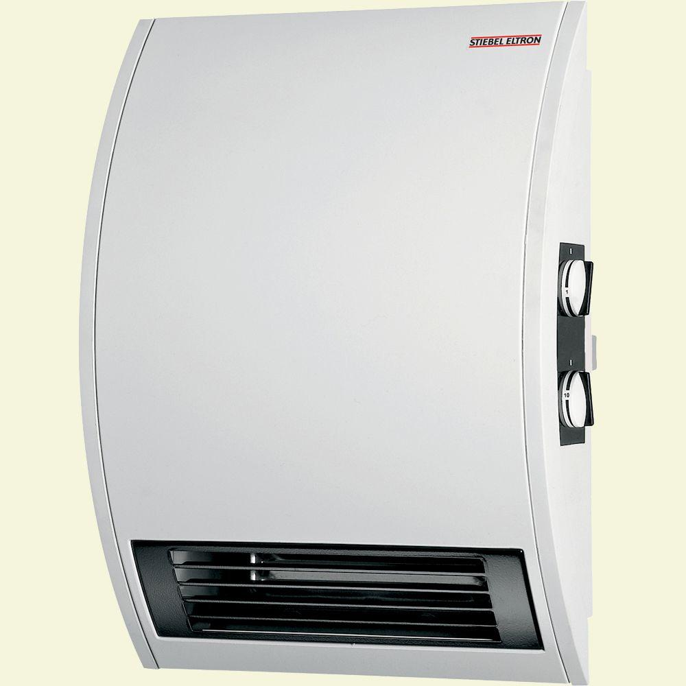 Stiebel Eltron CKT 15E Wall-Mounted Electric Fan Heater with Timer