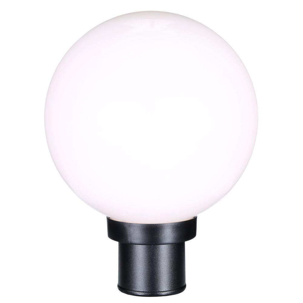 progress lighting globe collection 1 light black outdoor post