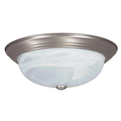 Bohanon 2-Light Satin Nickel Flush Mount