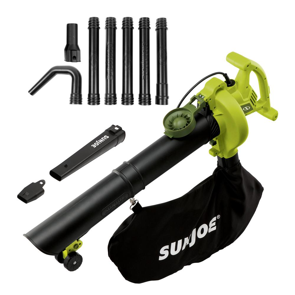 Sun Joe 250 Mph 440 Cfm 14 Amp Electric Handheld Blower