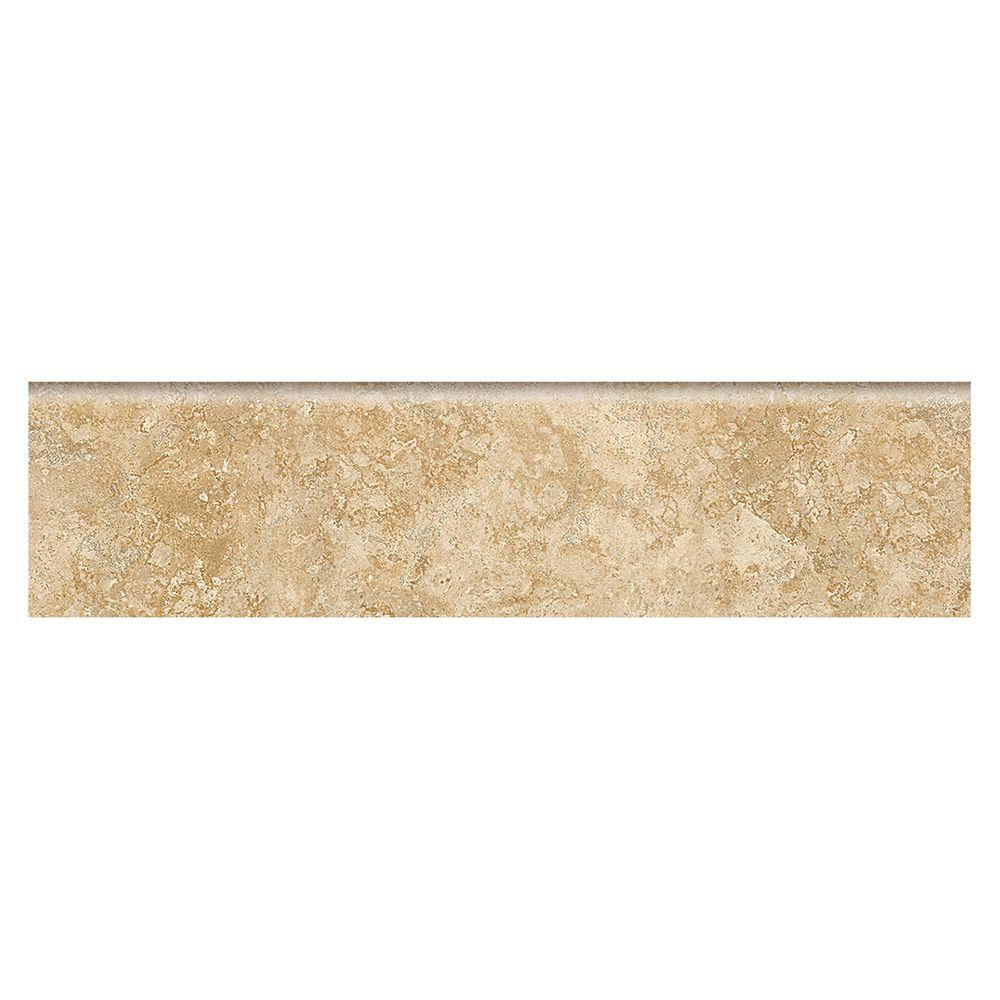 Fantesa Cameo 3 in. x 12 in. Glazed Porcelain Floor and