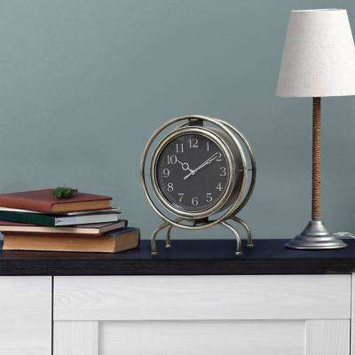 Gamma Silver Top Clock