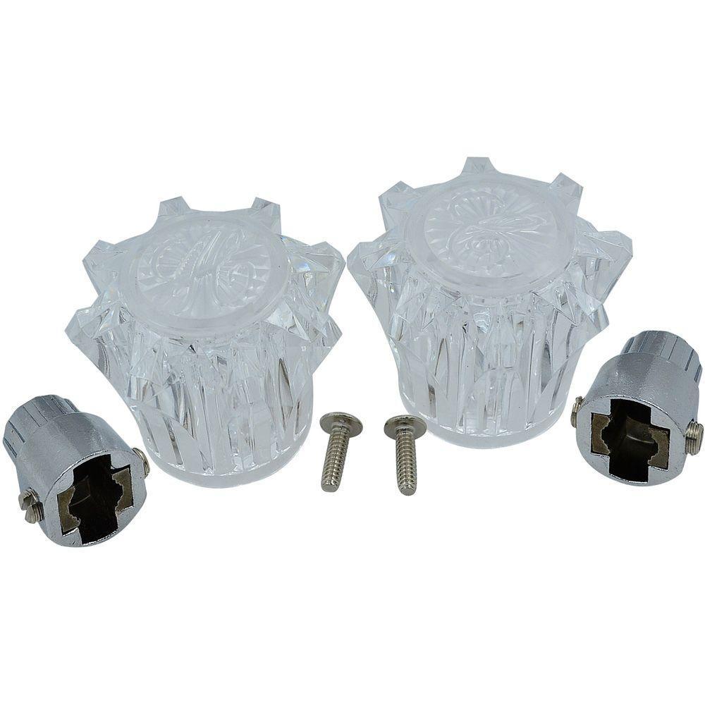 PartsmasterPro Lavatory, Kitchen, Tub and Shower Handle Pair ...
