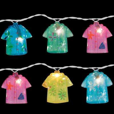10-Light Multi-Color Shirt Light Set (Set of 2)