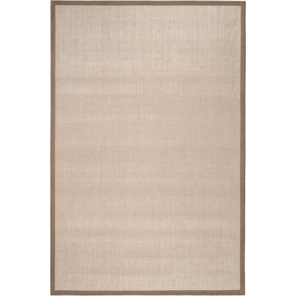 Safavieh Natural Fiber Taupe Light Brown 4 Ft X 6 Ft