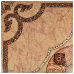 Cairoo 17-5/8 in. x 17-5/8 in. Ceramic Floor and Wall Tile (22.19 sq. ft. / Case)