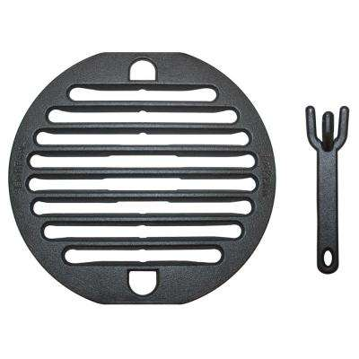 Cast Iron Grill Topper with Lifter