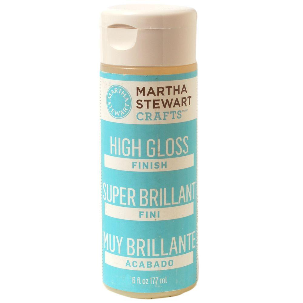 Martha Stewart Crafts 6-oz. High Gloss Craft Paint