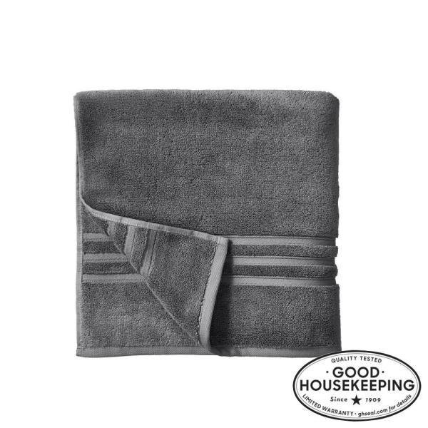 Turkish Cotton Ultra Soft Bath Towel in Charcoal