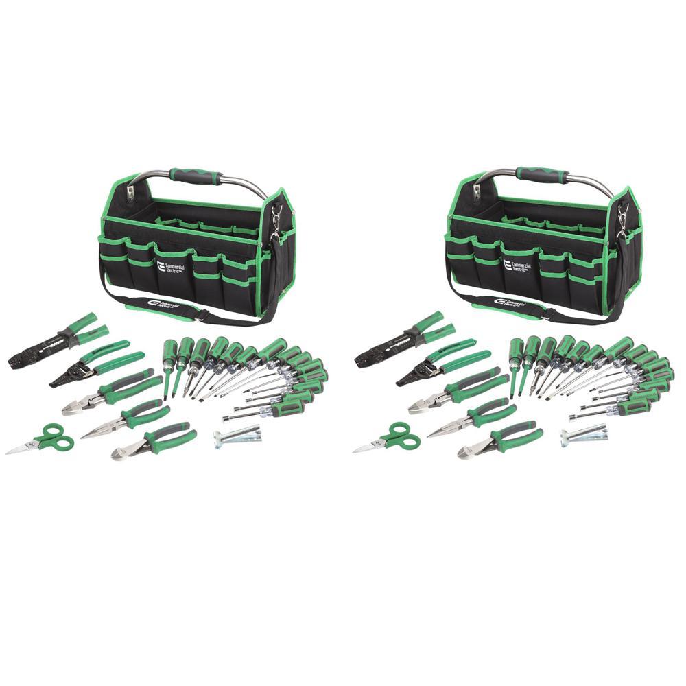22-Piece Electrician's Tool Set (2-Sets)