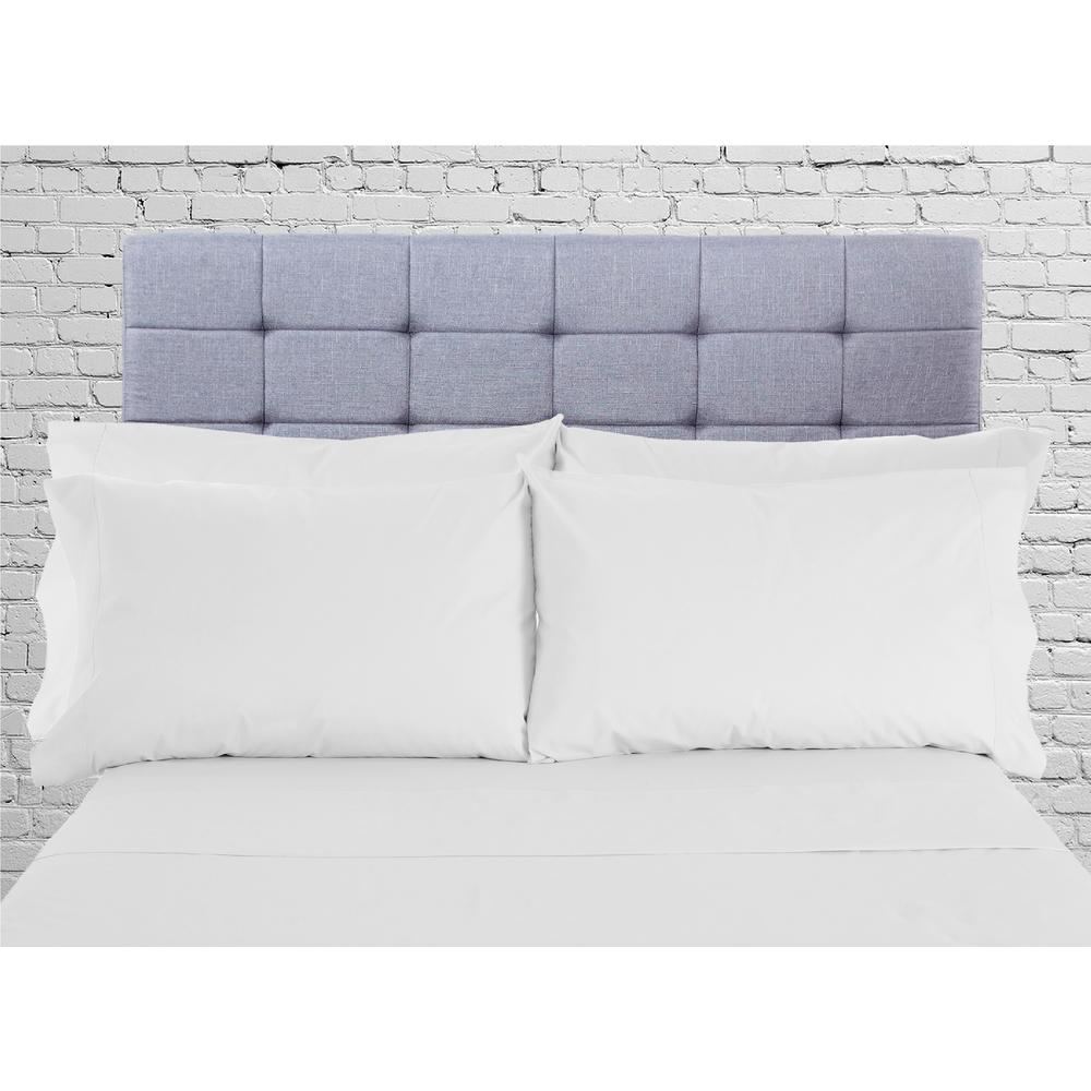 Lintex Hotel Collection 1800 6 Piece White Cotton Polyester King Sheet Set