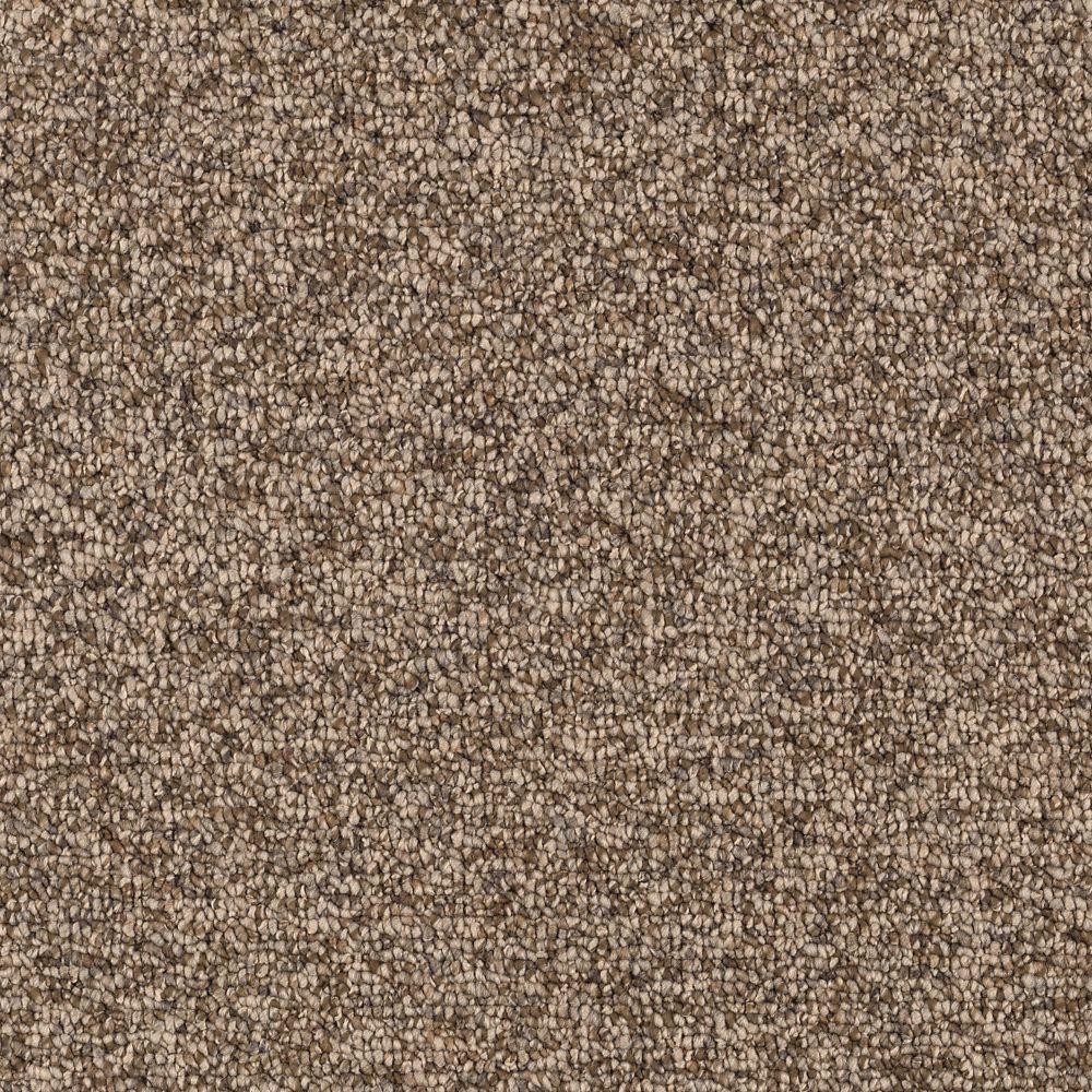 Smoke Trail - Color Rich Maple Berber 12 ft. Carpet