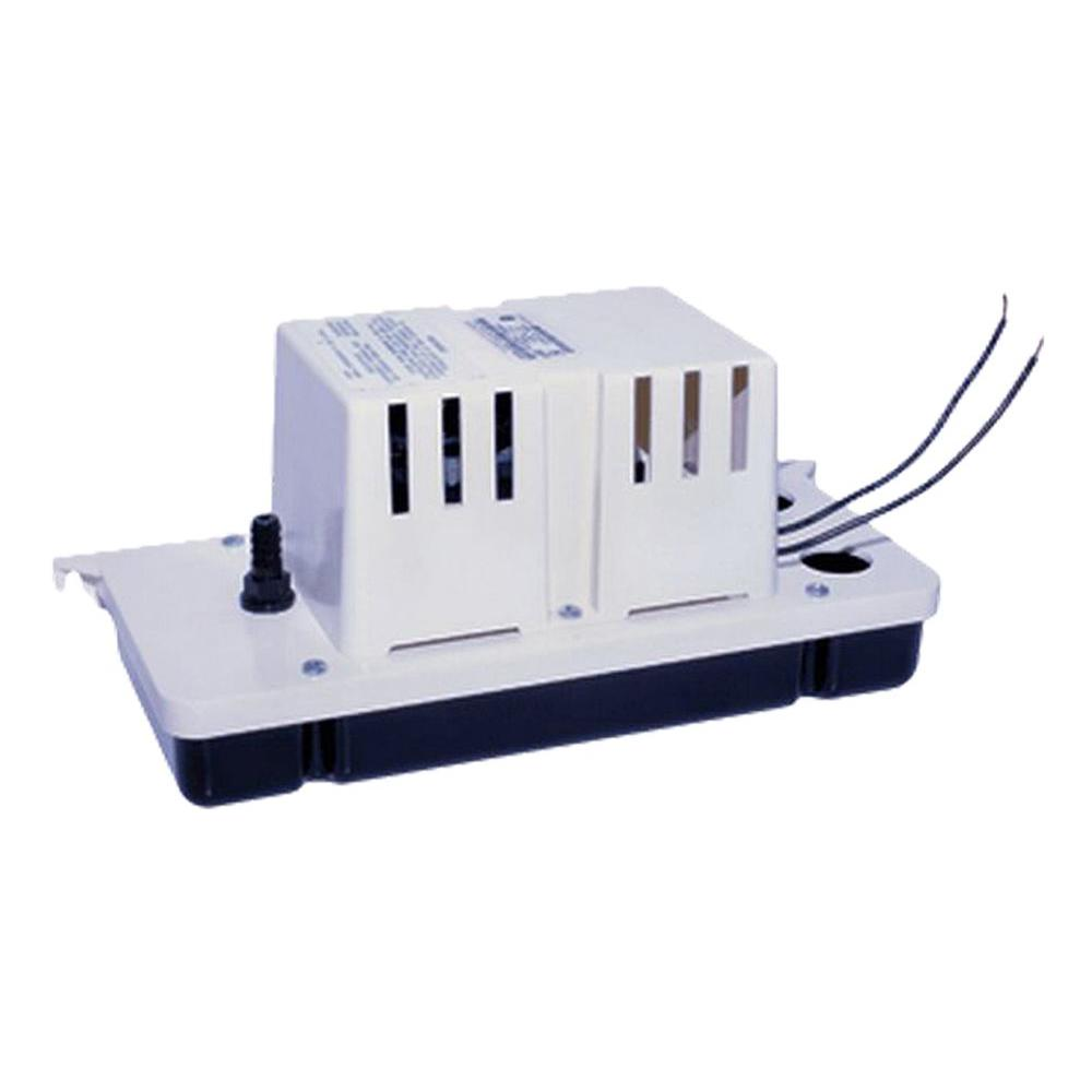 Condensate Pump Includes Check Valve and Safety Switch Franklin Electric 115-Volt 20 ft Shutoff 1//30 HP GPH 25 15 ft