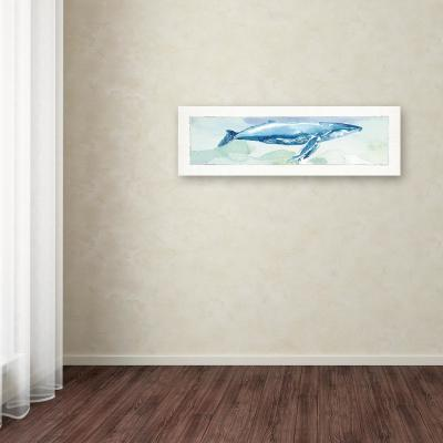 """10 in. x 32 in. """"Sea Life VI"""" by Lisa Audit Printed Canvas Wall Art"""