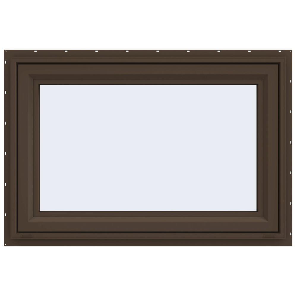 35.5 in. x 23.5 in. V-4500 Series Awning Vinyl Window -