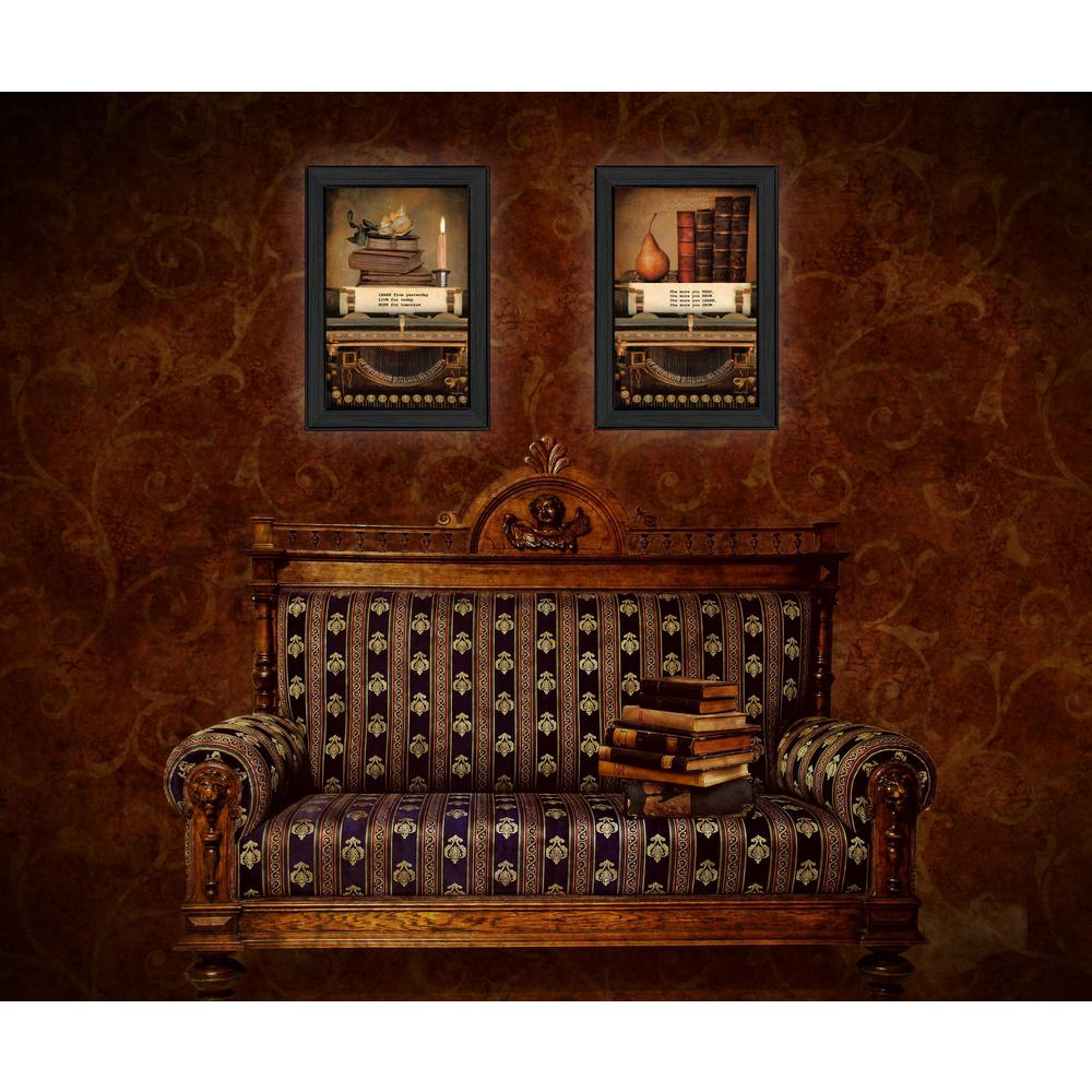 """Wall Hanging Lesson Plan: TrendyDecor4U 21 In. X 15 In. """"Vintage Lessons"""" Collection"""