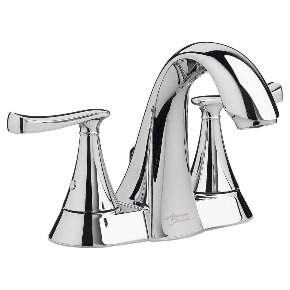 American Standard Chatfield 4 in. Centerset 2-Handle Bathroom Faucet in  Polished Chrome