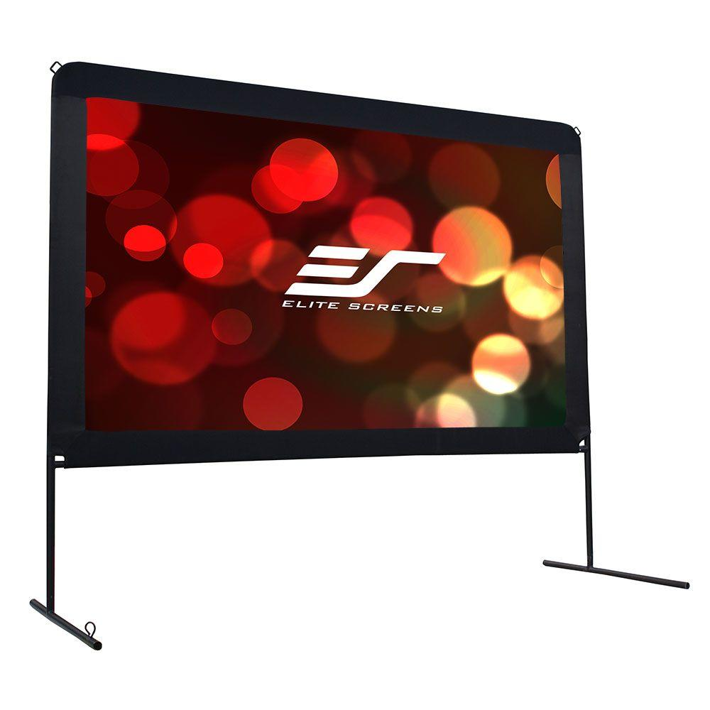 Elite Screens Yard Master 59 in. H x 104 in. W Outdoor Fi...
