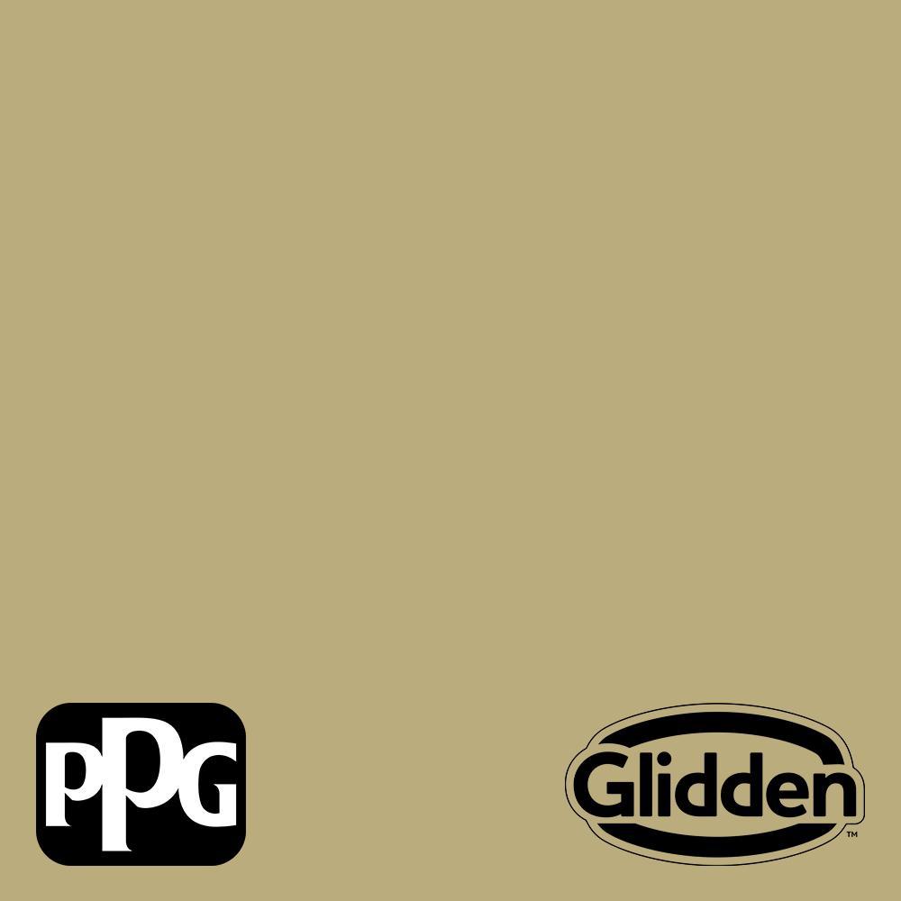 PPG Diamond 1 qt. Nettle PPG1111-4 Eggshell Interior Paint with Primer