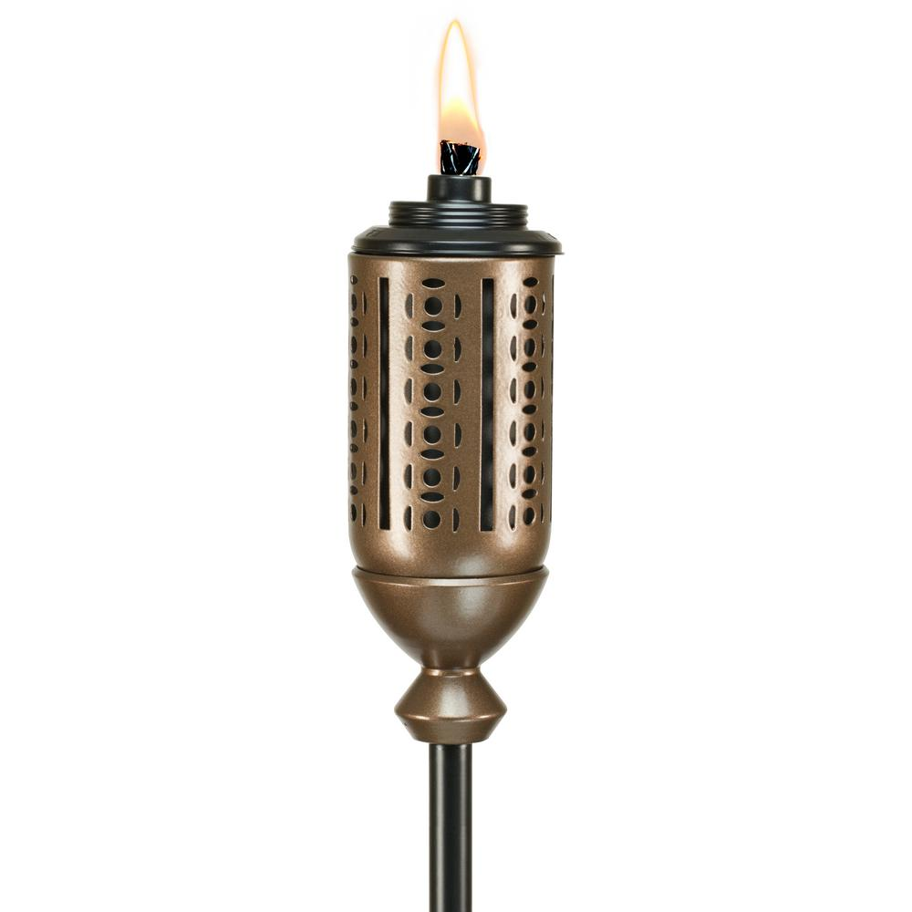 Tiki 65 In Cabos Metal Torch Copper 111715468 The Home
