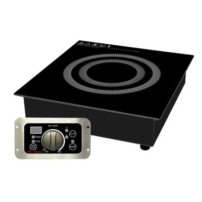 3400-Watt Built-In Commercial Induction Range (220-Volt to 240-Volt)