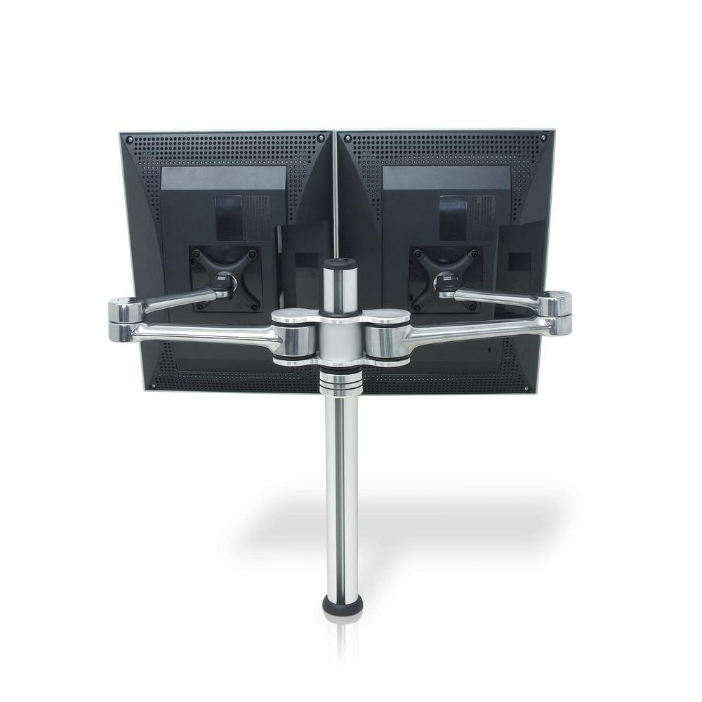 Atdec Visidec VF-AT-D Focus LCD Double Swing Arm, Silver
