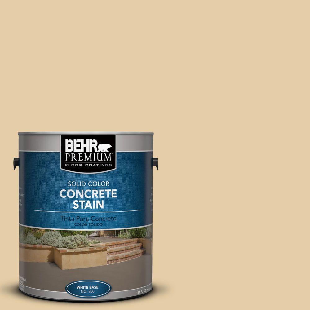 1 gal. #PFC-21 Grain Solid Color Interior/Exterior Concrete Stain