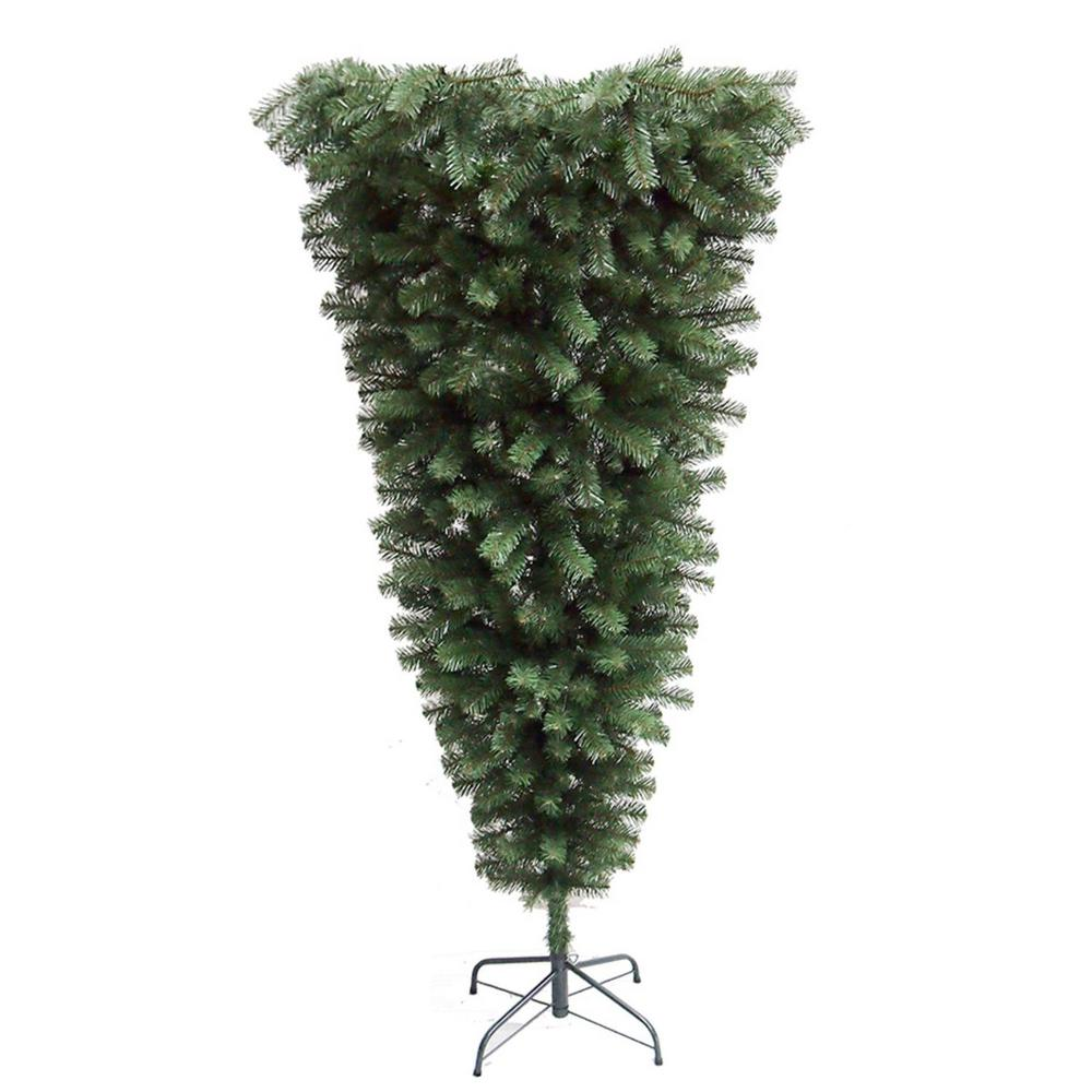 Why Upside Down Christmas Tree: Northlight 5.5 Ft. X 38 In. Upside Down Spruce Medium