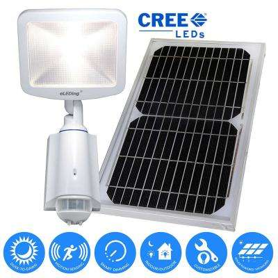 180° Solar Powered Cree LED Outdoor/Indoor ...