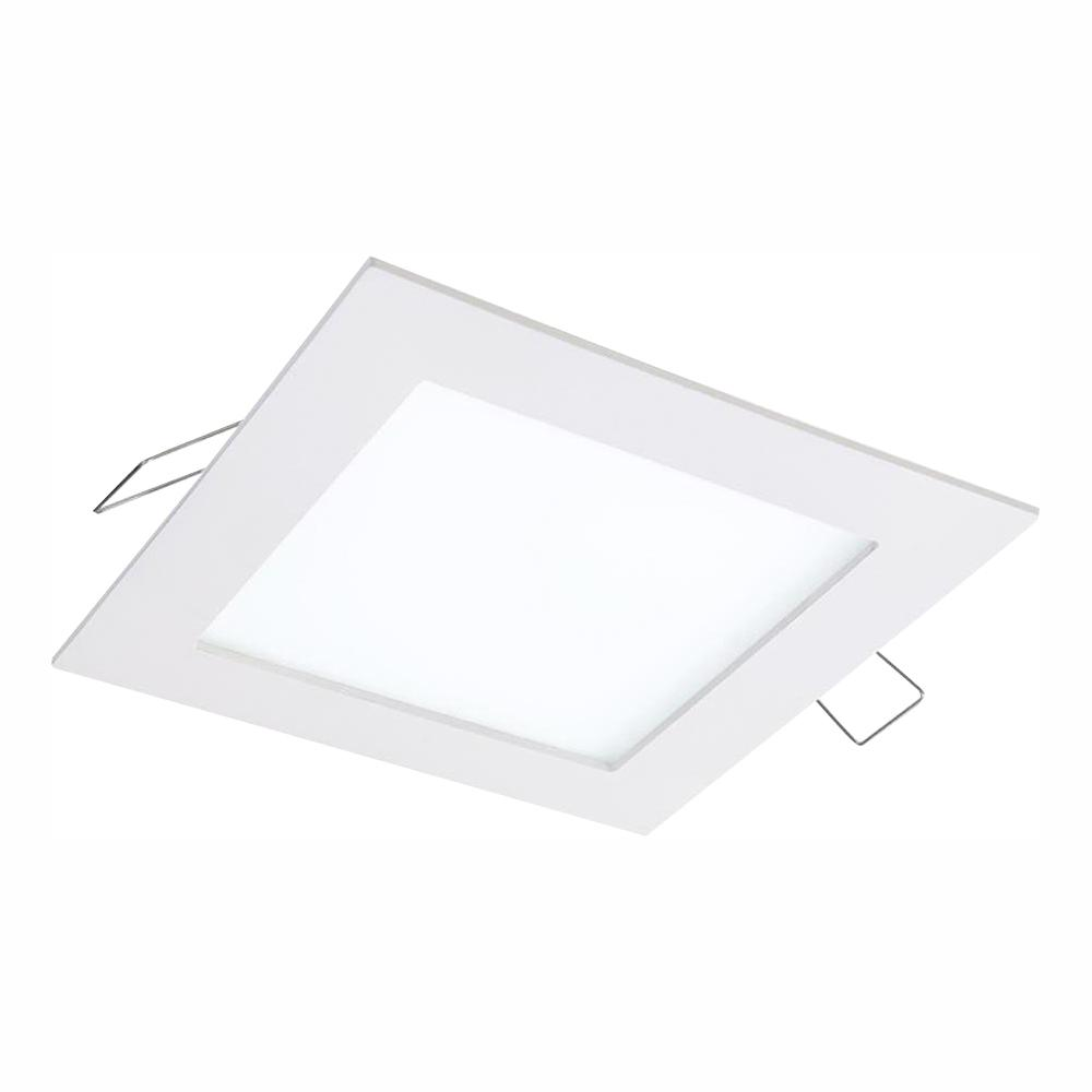 Halo SMD-DM 4.85 in. 3000K Lens White Remodel Square Surface Mount Recessed Integrated LED Trim Kit