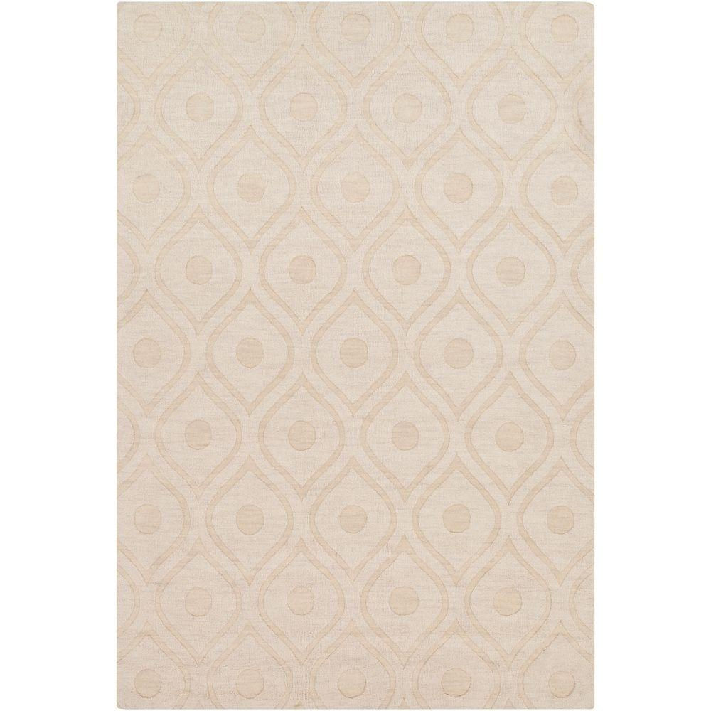 Central Park Zara Ivory 2 ft. x 3 ft. Indoor Accent