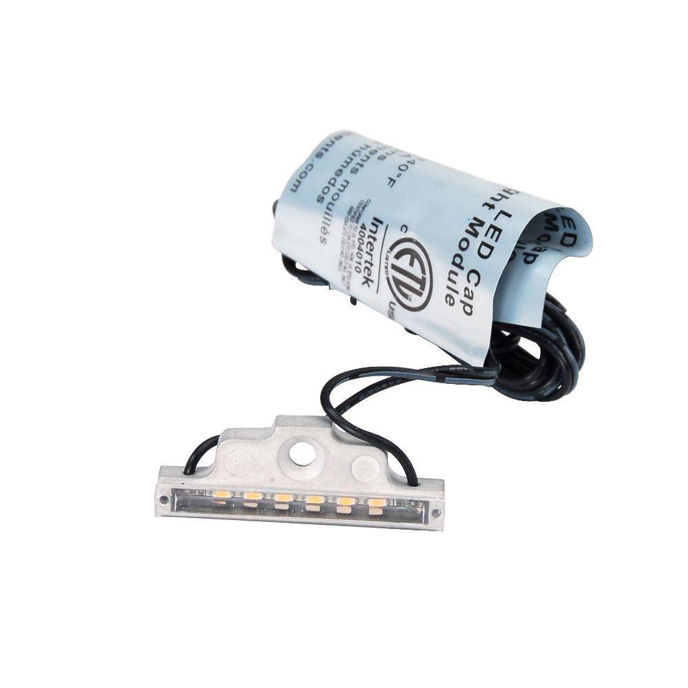 Bare Aluminum LED Cap Light Module